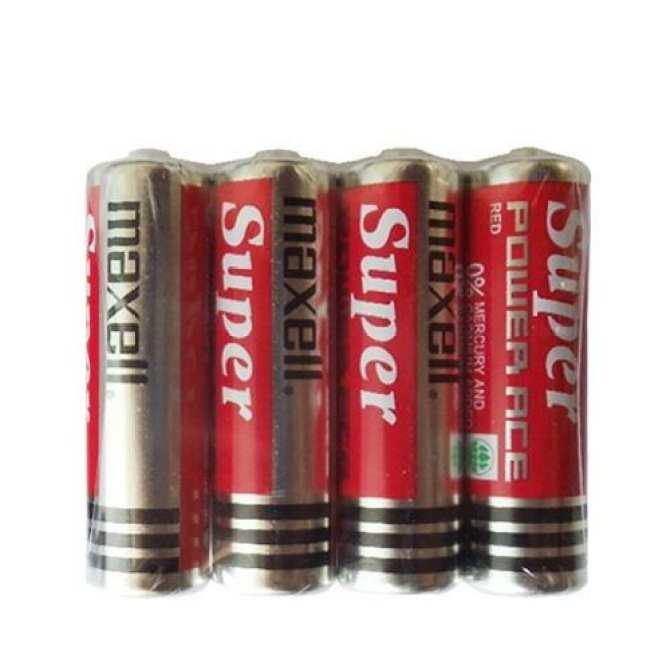 Hộp 40 Viên Pin Tiểu AA Maxell Super 1.5V Cao Cấp (Đỏ)