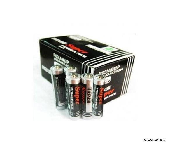 Bộ 8 Viên Pin Tiểu AAA (3A) Maxell Super 1.5V Cao Cấp