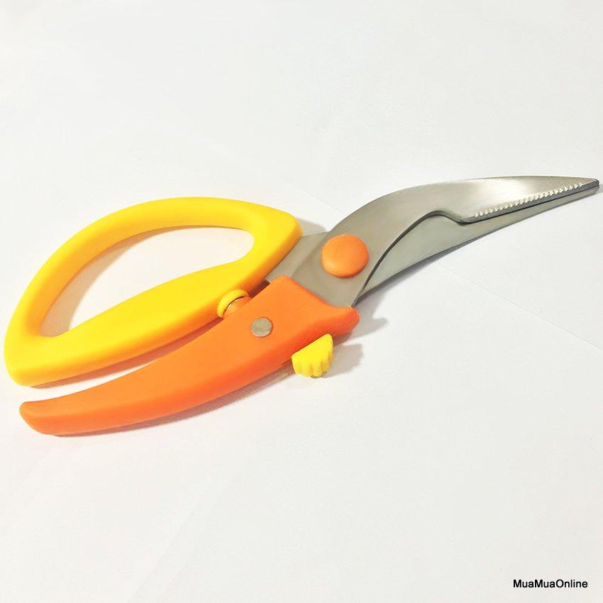 Kéo Cắt Gà Kitchen Scissors Cao Cấp