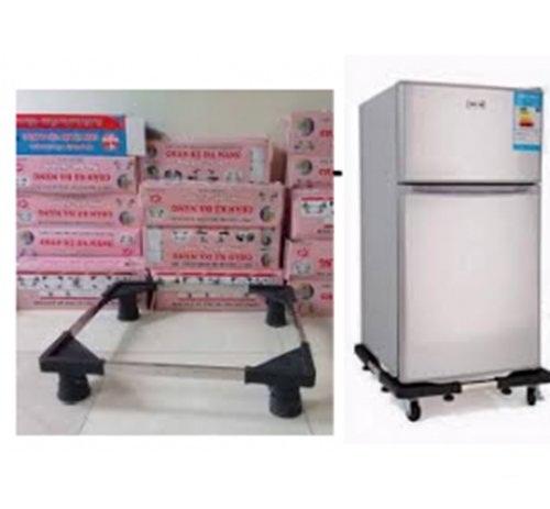 Kệ Chân Đỡ Máy Giặt - Tủ Lạnh Inox Tăng Giảm Các Chiều Đa Năng