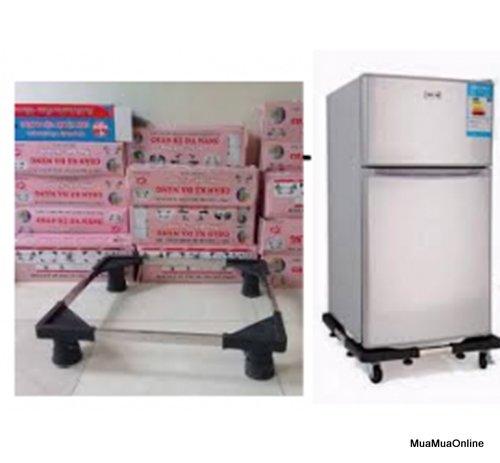 Kệ Chân Đỡ Máy Giặt - Tủ Lạnh Inox Tăng Giảm Các Chiều Đa Năng Cao Cấp