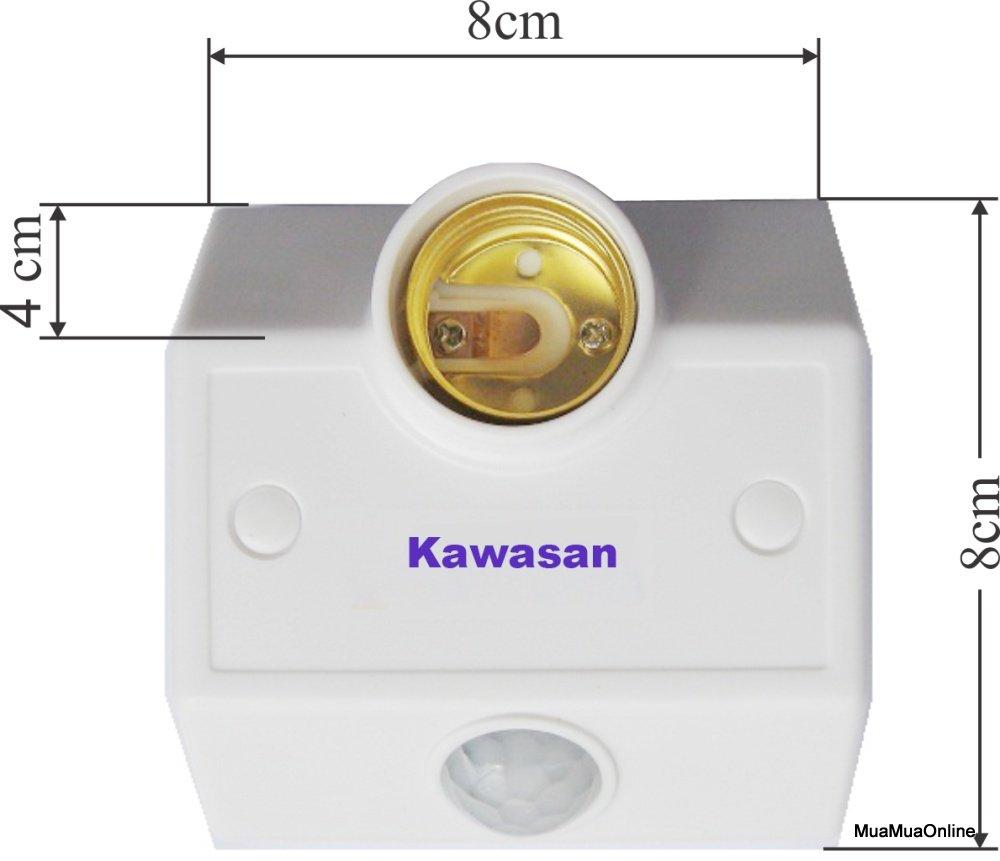 Đui Đèn Cảm Ứng Hồng Ngoại Kawasan KW-SS682 Cao Cấp