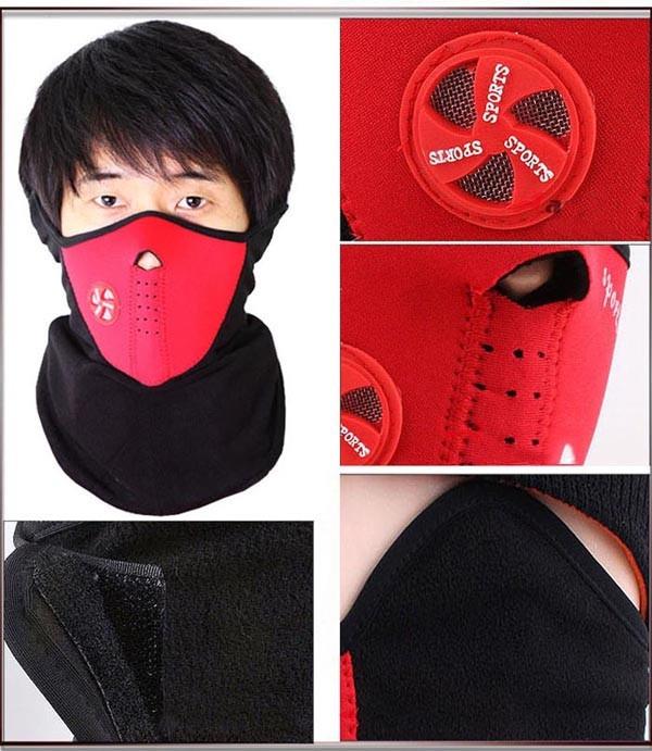 Khẩu Trang Kiểu Dáng Ninja Chuyên Dành Cho Phượt Thủ