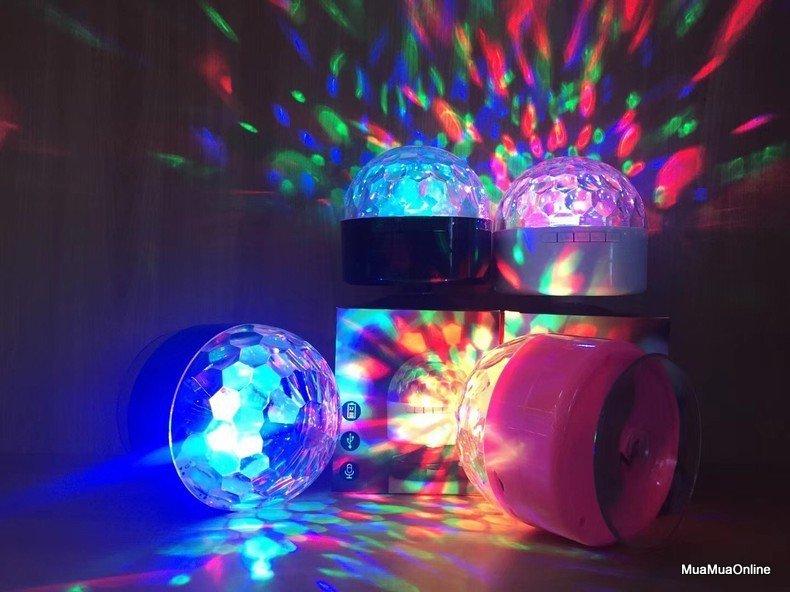 Loa Bluetooth Kiêm Đèn Led Vũ Trường AQ9