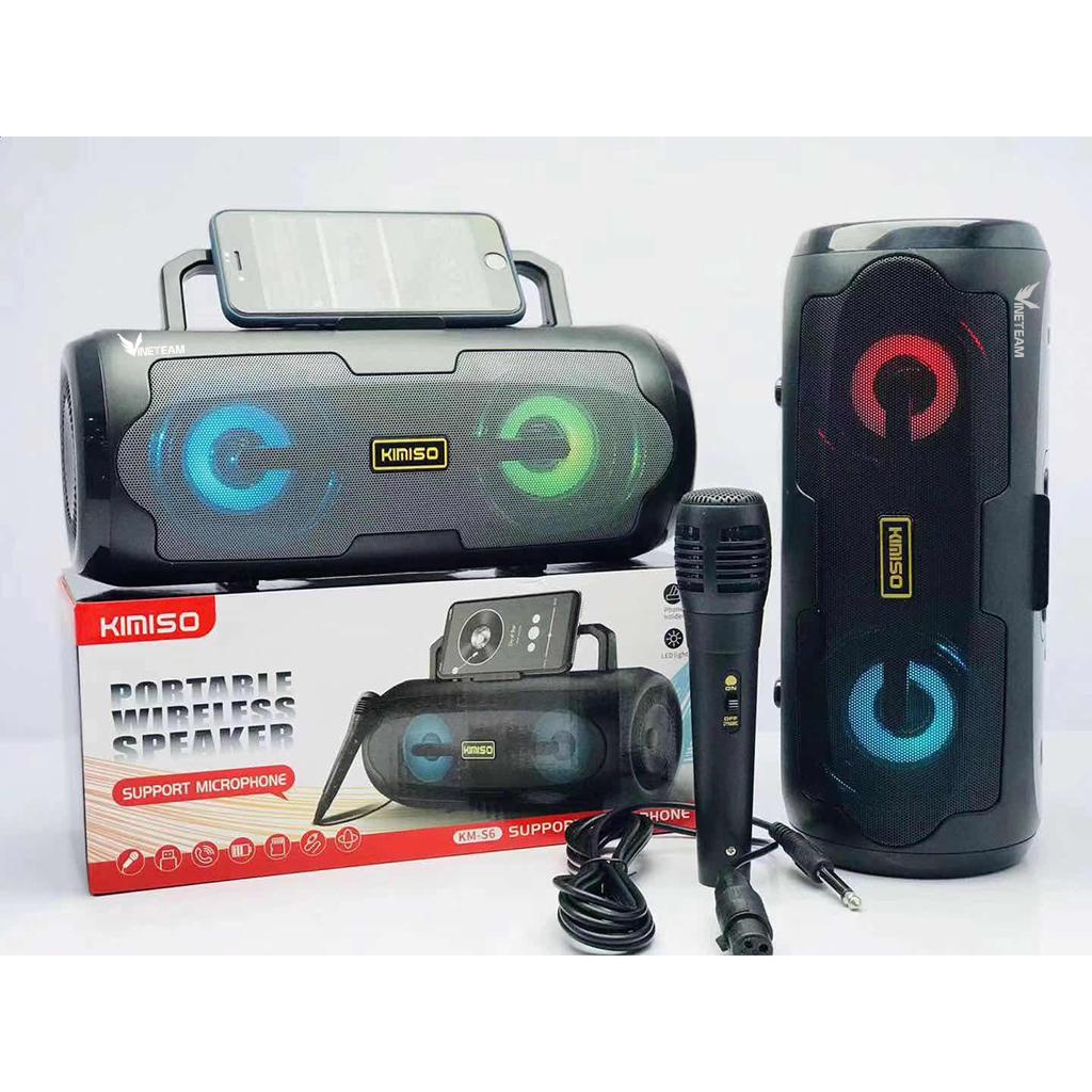 Loa Bluetooth Kimiso S6