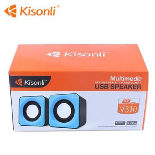 Loa Vi Tính Mini Kisonli V310 2.0 Nghe Hay