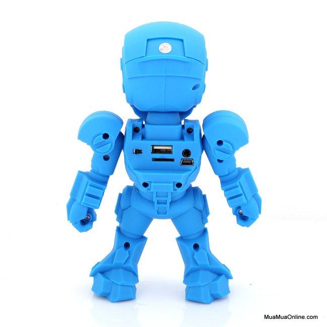 Loa Bluetooth Mini C-89 Hình Iron Man Có Led Cực Hay