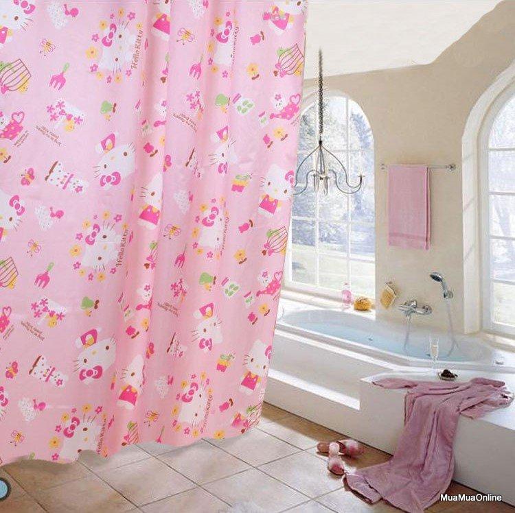 Màn Che Nhà Tắm, Cửa Sổ Chống Thấm Nước Bám Bẩn 180x180cm Cao Cấp