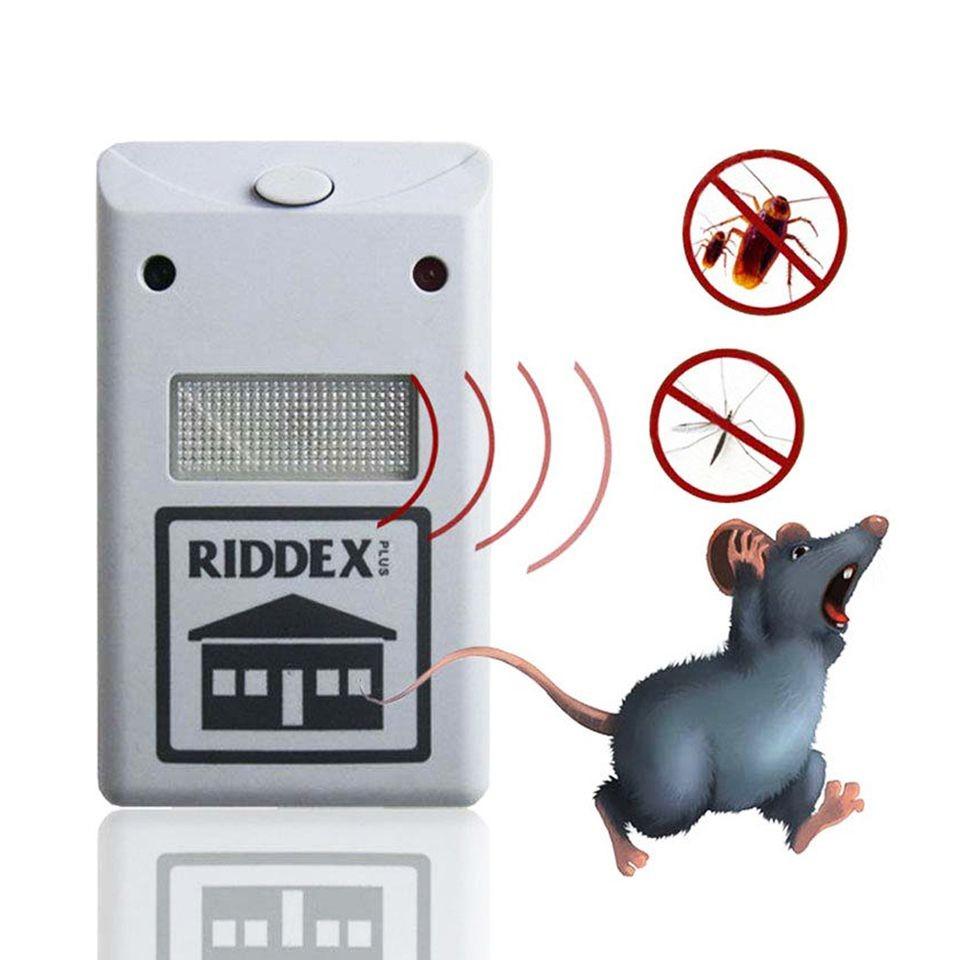 Máy Đuổi Côn Trùng, Chuột, Dán, Nhện Riddex Plus Cao Cấp