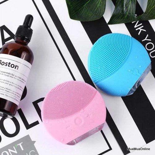 Máy Rửa Mặt, Massage Mặt Lina Mini For You Giúp Làm Sạch Da, Làm Trắng Da Và Trị Mụn Hiệu Quả