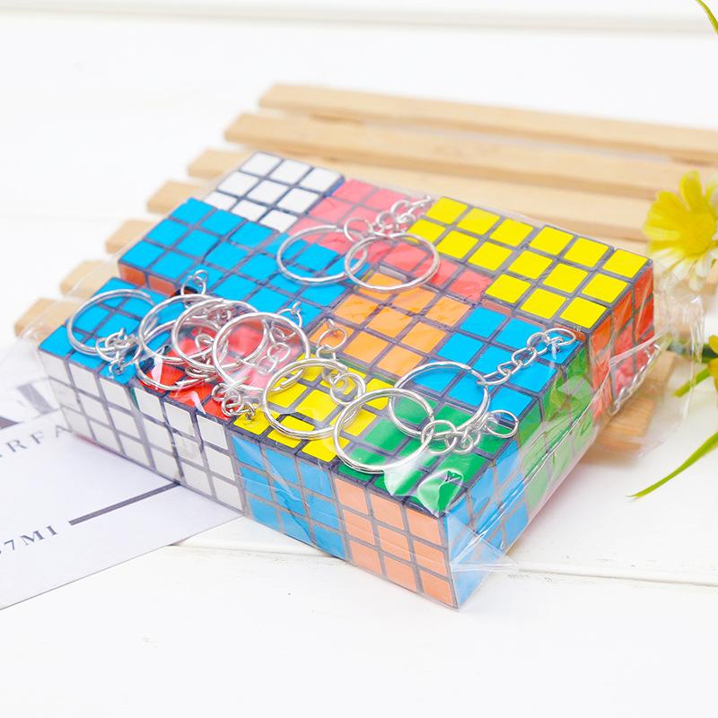 Móc Khóa Hình Rubik 3cmx3cm
