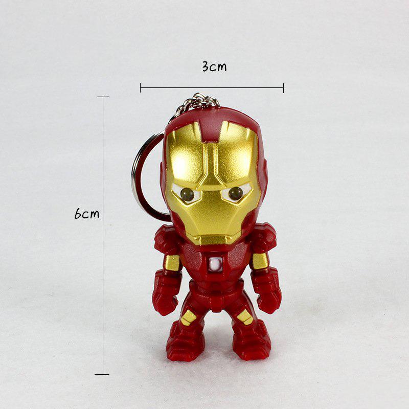 Móc Khóa Iron Man Có Led Và Âm Thanh