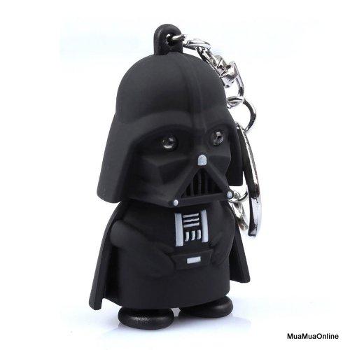 Móc Khóa Chúa Tể Bóng Tối Vader Có Led Và Âm Thanh Cao Cấp