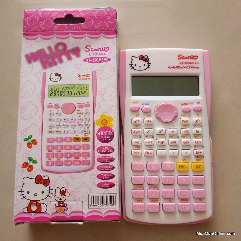 Máy Tính Hello Kitty Kt 991