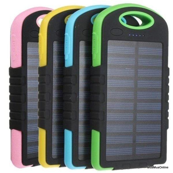 Pin Dự Phòng Năng Lượng Mặt Trời 10.000mah Solar Charger