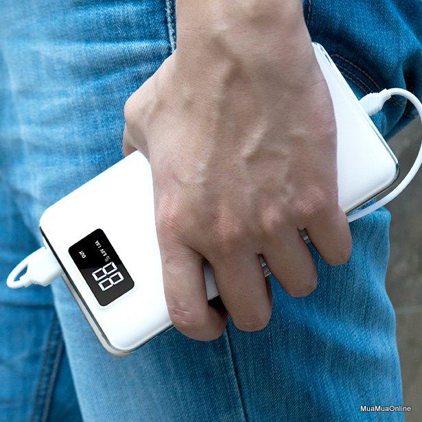 Pin Dự Phòng Hoco 15000Mah Lcd B23A