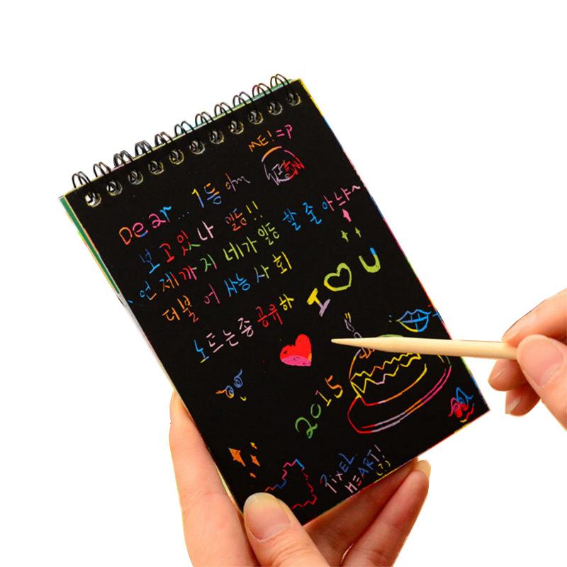 Sổ Scratch Note Cho Bé