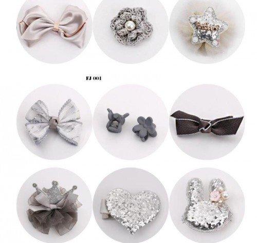 Set 10 Kẹp Tóc Băng Đô Cho Bé Gái