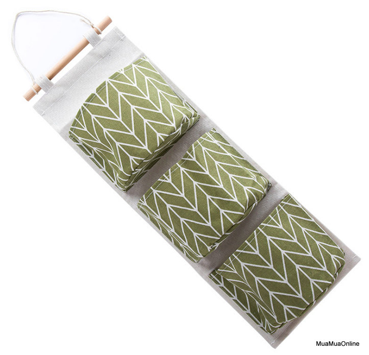 Túi Vải Bố Treo 3 Tầng Đa Năng