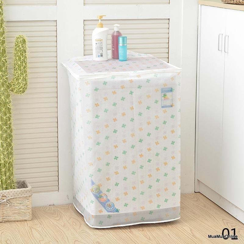 Áo Trùm Máy Giặt Cửa Trên Nasee Cao Cấp