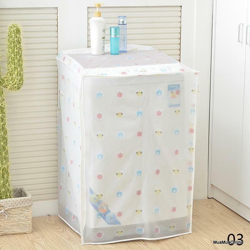 Áo Trùm MÁy Giặt Cửa Trên Nasee 60X56X83cm