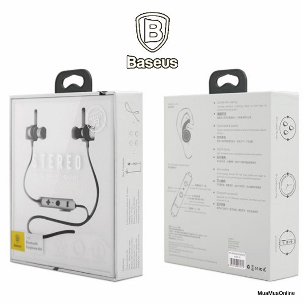 Tai Nghe Bluetooth Baseus B16 Cho Dân Thể Thao