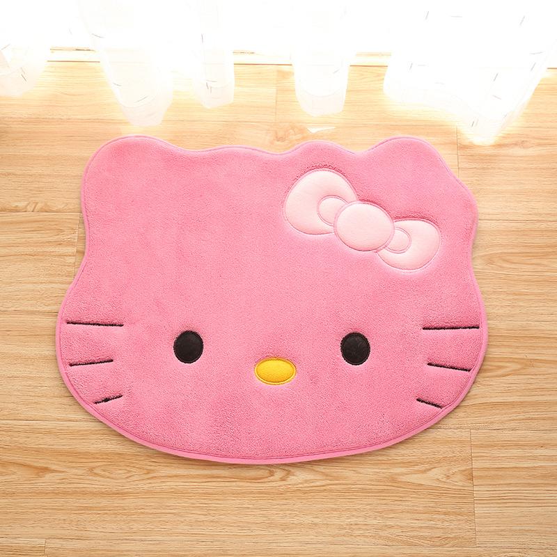Thảm Lau Chân Hình Mèo Kitty