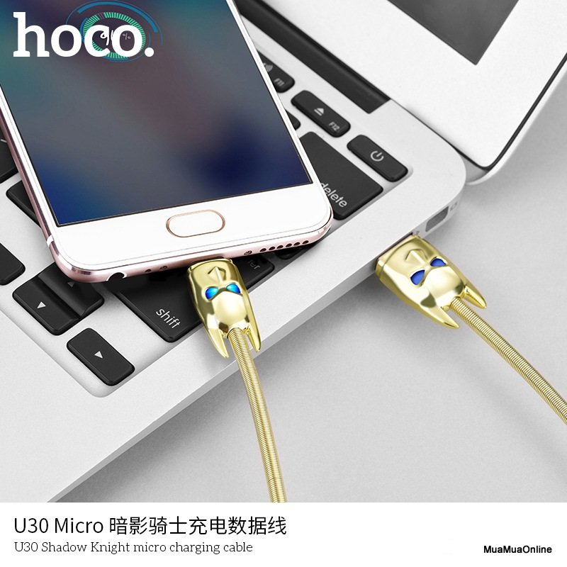 Cáp Sạc Micro USB Hoco U30 Shadow Knight