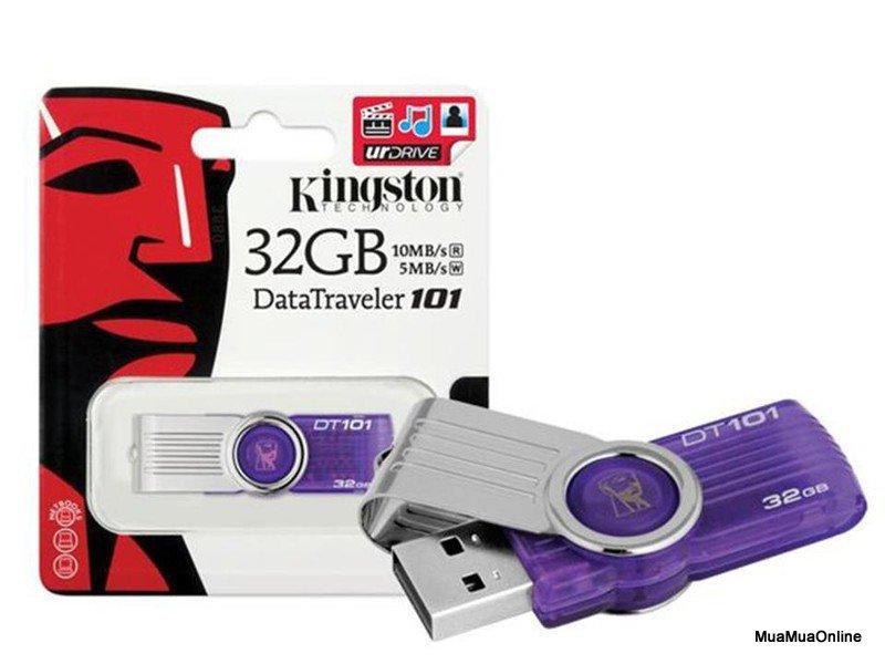 USB Kingston 32Gb Data Traveler DT101 Cao Cấp