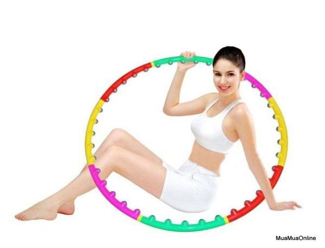 Vòng Lắc Giảm Eo Bụng Massage Hoop Cho Vòng Eo Thon Gọn