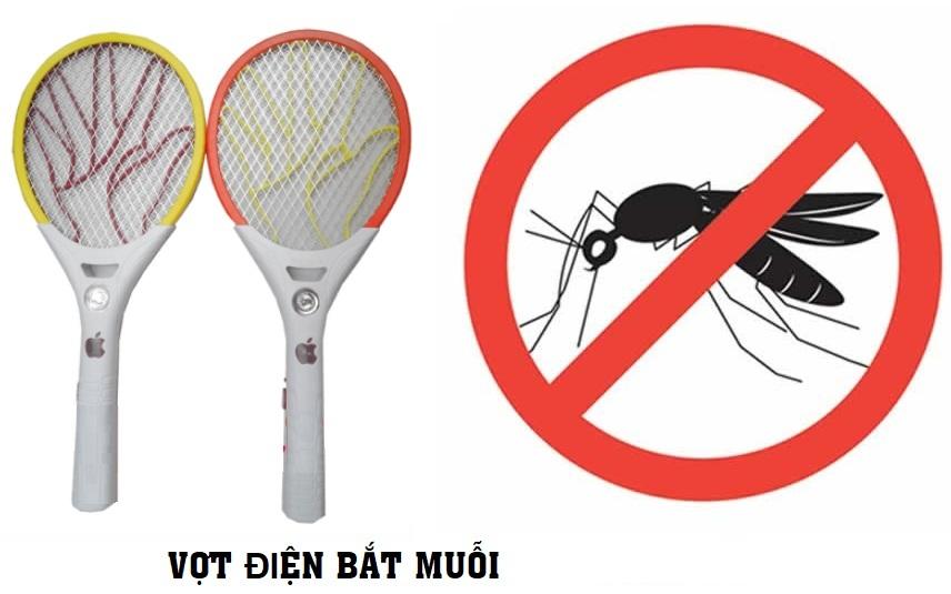 Vợt Bắt Muỗi Hình Tia Sét
