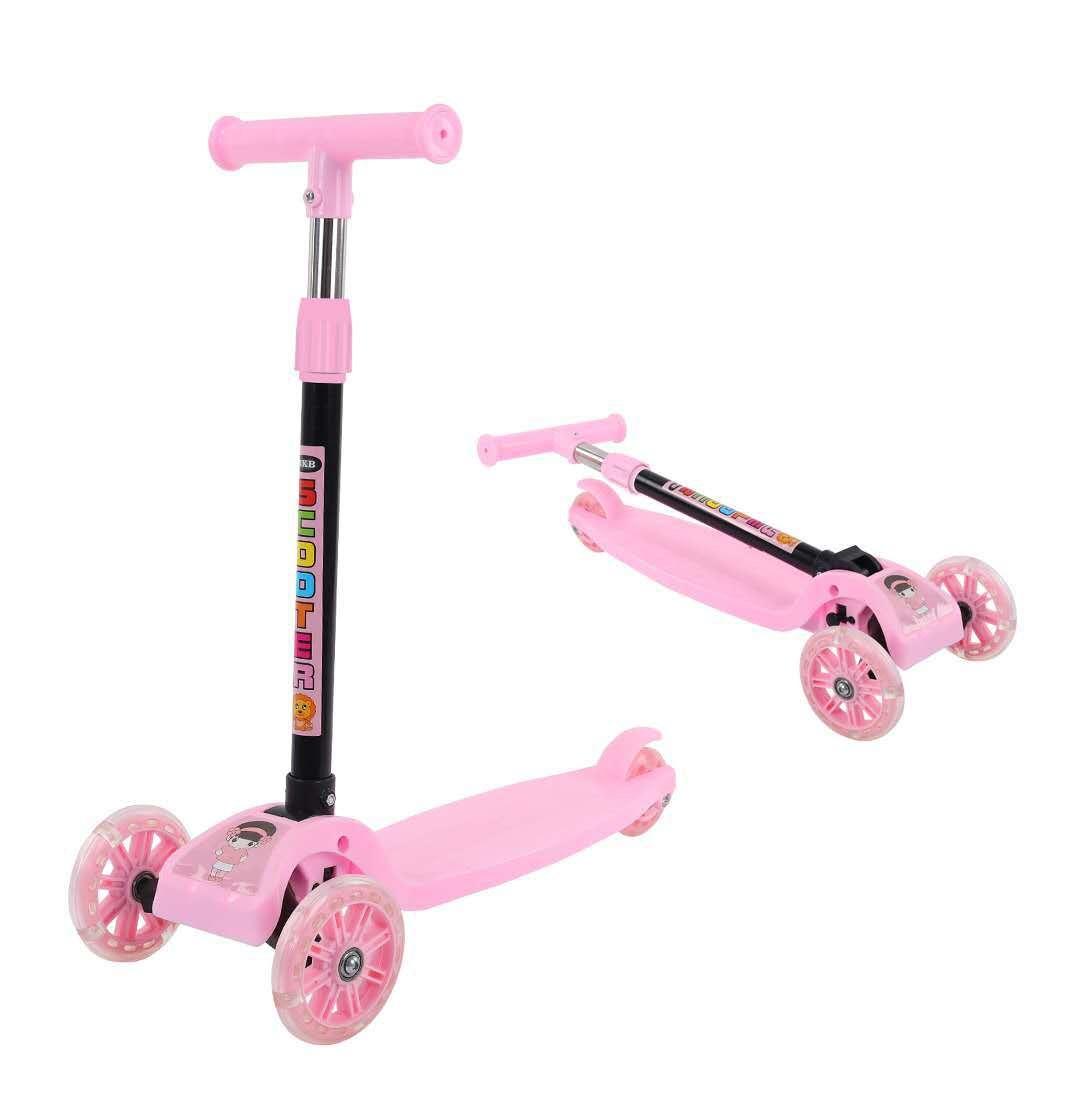 Xe Trượt Scooter 3 Bánh Phát Sáng Cho Bé