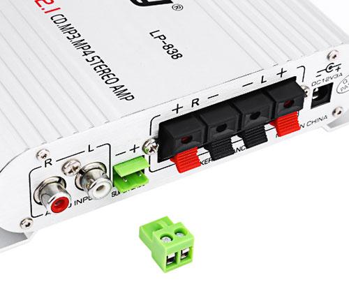 Ampli Mini Lepy Hi-Fi 2.1 Lp-838 Cao Cấp