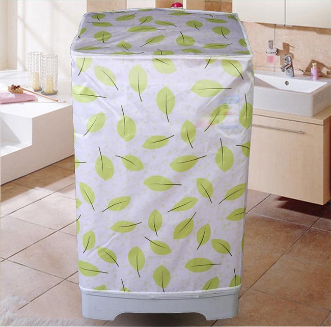 Áo Trùm Máy Giặt Cửa Trên Vải Satin Cao Cấp