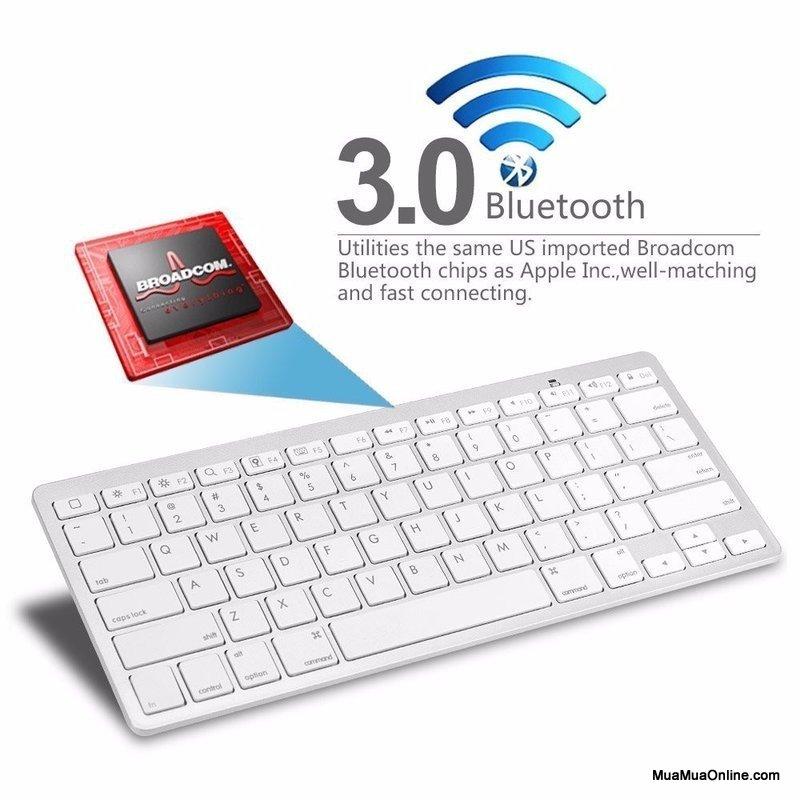 Bàn Phím Bluetooth Mini Cho Tivi, Điện Thoại, Máy Tính Bảng...