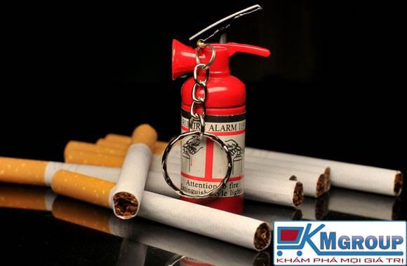 Bật Lửa Hình Bình Chữa Cháy Cao Cấp