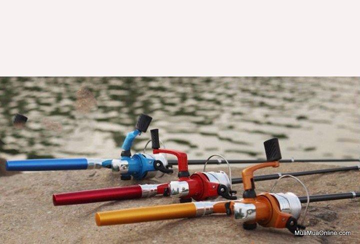 Bộ Cần Câu Cá Du Lịch Mini Dài 100Cm Hình Bút Bi