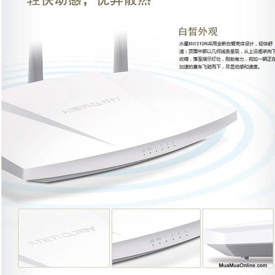Phát Wifi Mercury 3 Râu Mw313R 300Mbps Chính Hãng
