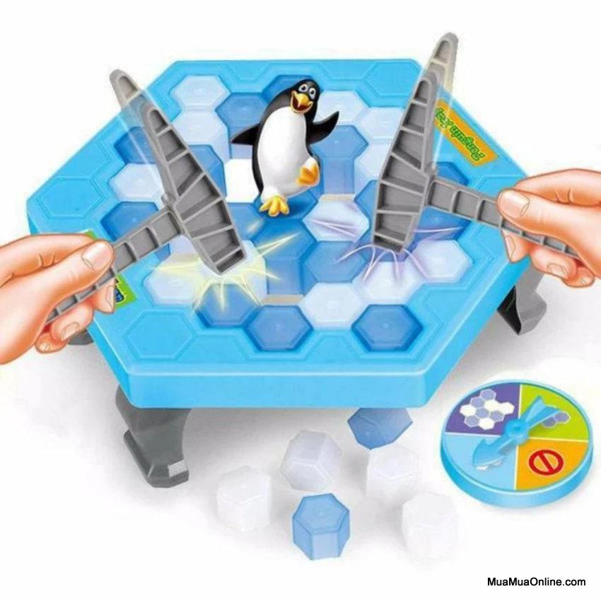 Bộ Trò Chơi Đập Ô Cứu Chim Cánh Cụt Penguin Trap