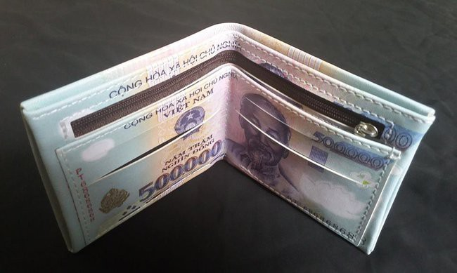 Bóp Ví Nam Hình 500K