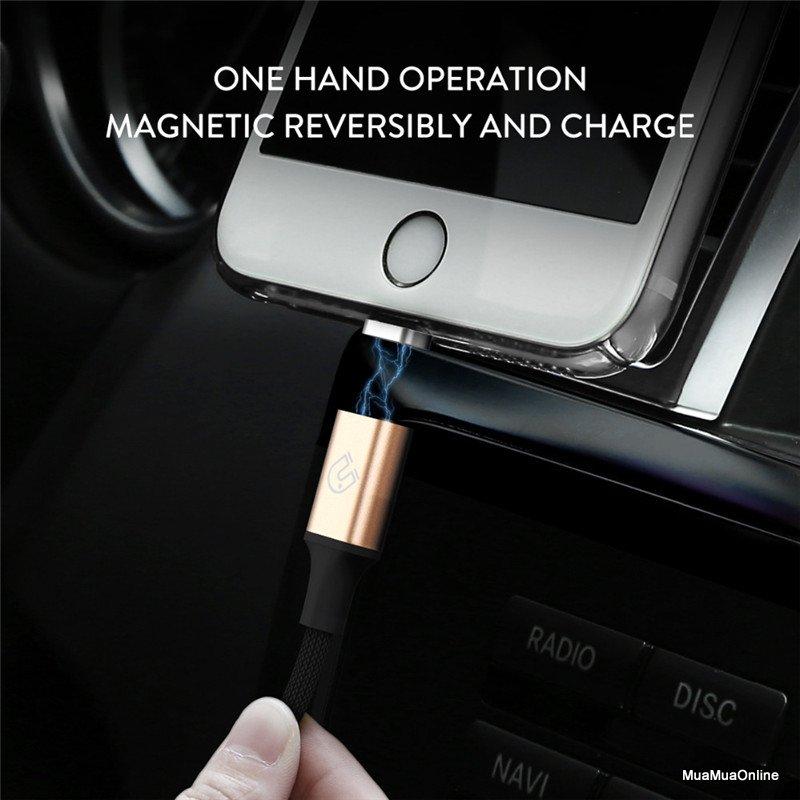 Cáp Sạc Từ Tính Baseus Lightning Magnetic Lv194 Cho Iphone/ Ipad