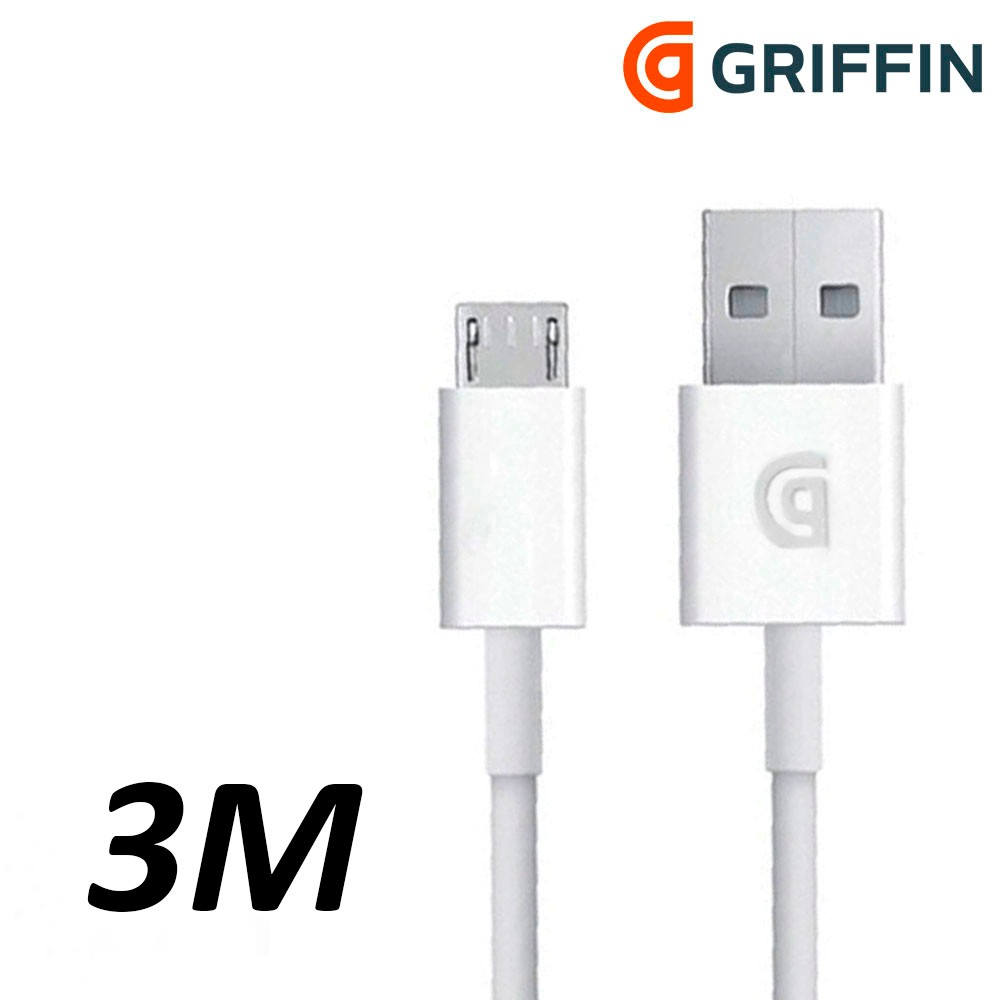 Cáp Sạc Samsung Griffin Dây Dài 3M Chính Hãng
