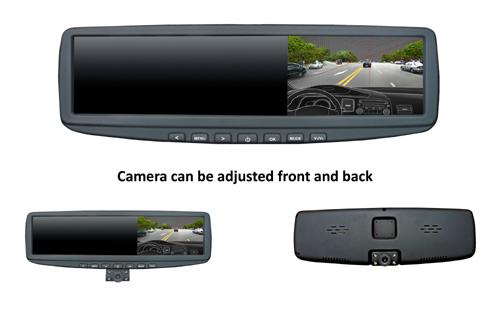Camera Hành Trình Dạng Gương Chiếu Hậu 2.7 Inch Hd 1080P Car Black Box Dvr With G-Sensor Motion Dection