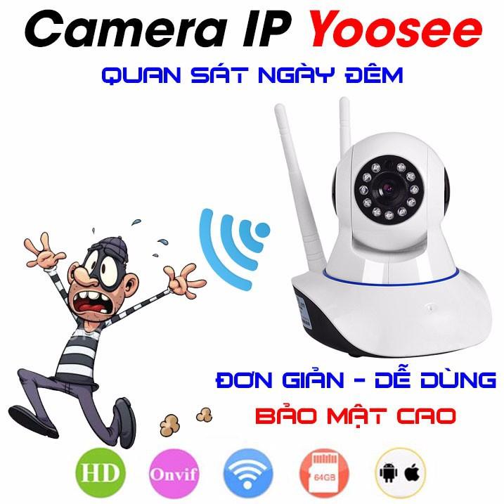 Camera Ip Giám Sát Yoosee 2 Râu Full Hd Hồng Ngoại Quay Đêm Cao Cấp