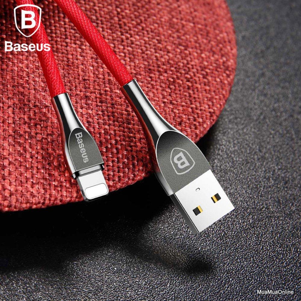Cáp Sạc Lightning Baseus Zinc Alloy Metal Lv157 Cho Iphone 6/ 7/ 8/ Iphone X