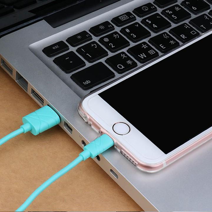 Cáp Sạc Iphone 5, 6 Ios9 Chính Hãng Usams