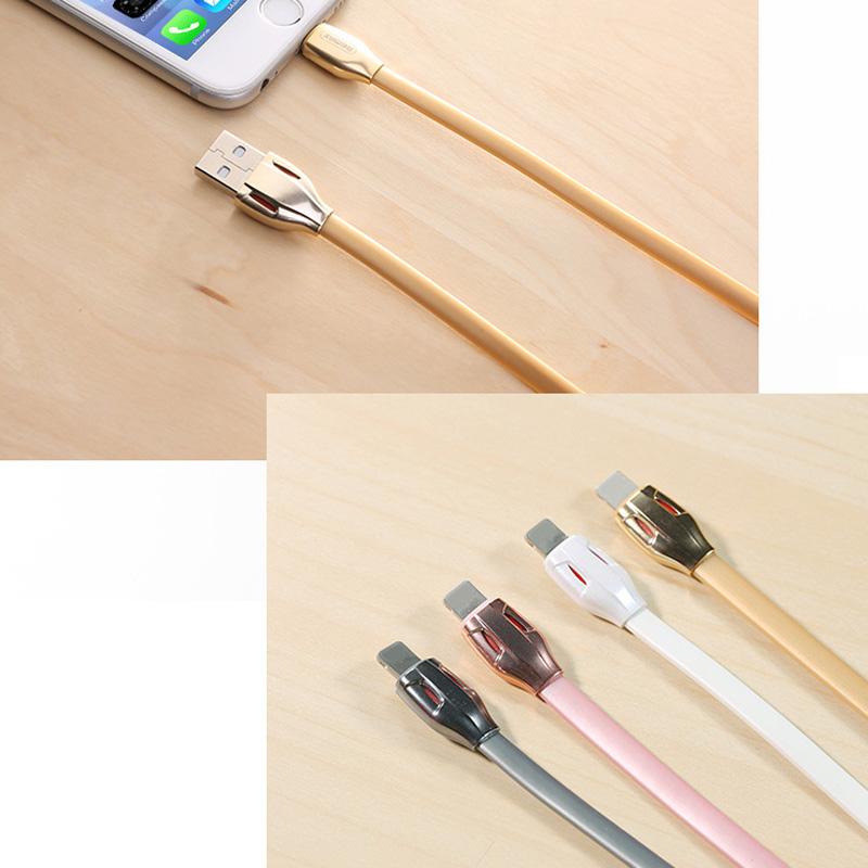 Cáp Sạc Remax Iphone 5, 6, 7 Rắn Hổ Mang Chính Hãng