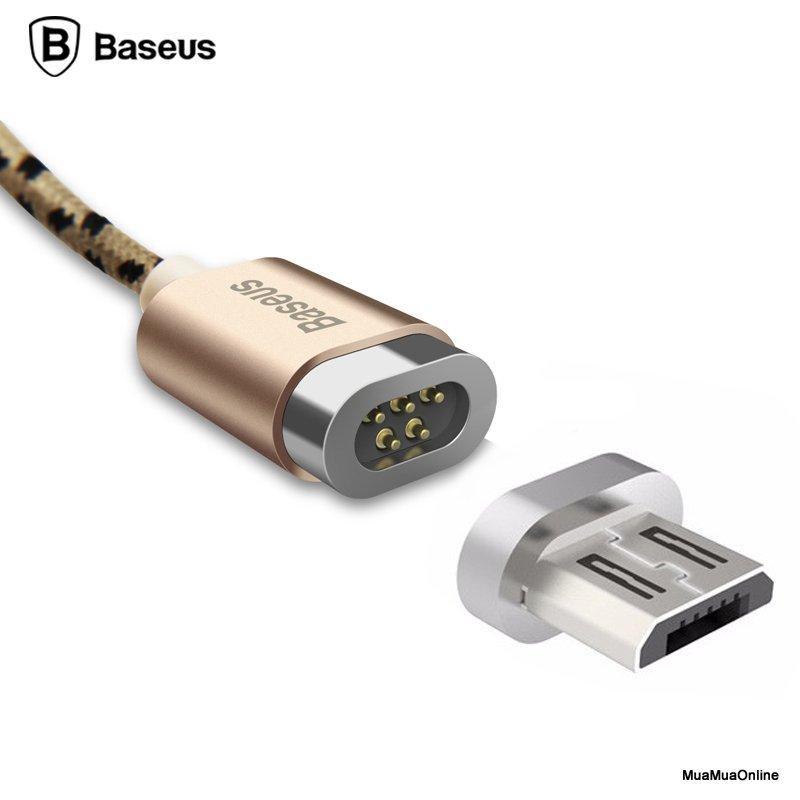 Cáp Sạc Từ Tính Baseus Micro Usb Magnetic Cho Smartphone Và Tablet Android/ Windows