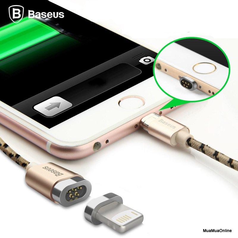 Cáp Sạc Từ Tính Baseus Lightning Magnetic Tốc Độ Cao Dùng Cho Iphone/ Ipad