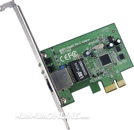 Card Mạng Tp-Link Tg-3468 Gigabit Pci-Ex-1X Chính Hãng
